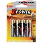 BAT ANS ALKALNA X-POWER LR06 (4 V BLISTRU)