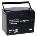 Multipower MP36-12C 12V 36Ah