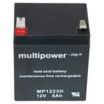 Multipower MP1223H 12V 5Ah