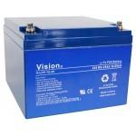 Vision 12V / 25Ah LiFePO4 akumulator z BMS/balanserjem