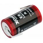 Xcell 3.6V ER34615 D litijeva baterija + konektor LF Z - oblika