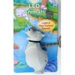 Ansmann LED živalice - svetilka, obesek za ključe (HIPPO)