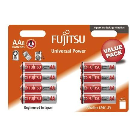 Fujitsu Lr06 AA alkalne baterije (8 set)