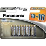Panasonic Everyday Power AAA LR03 - 20 kos