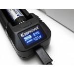 Keeppower L1 (V2) LCD Li-Ion polnilnik