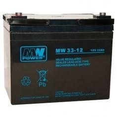 MW 12V 33Ah svinčen akumulator