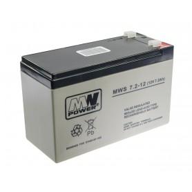 MW 12V 7.2Ah svinčen akumulator