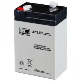 MW 6V 5Ah AGM svinčen akumulator