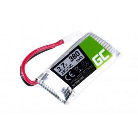 RC Baterija za Hubsan H107 H107C H107CHD H107L 3.7V 380mAh