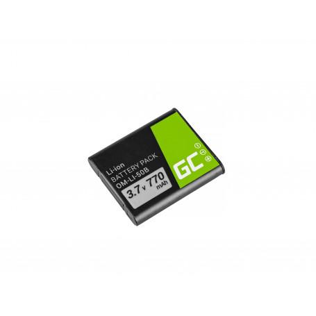 Baterija Li-50B za Olympus SZ-15, SZ-16, Tough 6000, 8000, TG-820, TG-830, TG-850, VR-370, XZ-1, XZ-10 3.7V 770mAh