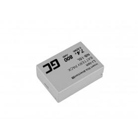 Baterija NB-10L za Canon PowerShot G15, G16, G1X, G3X, SX40 HS, SX40HS, SX50 HS, SX60 HS 7.4V 800mAh