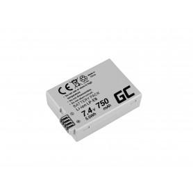 Baterija LP-E8 za Canon EOS Rebel T2i, T3i, T4i, T5i, EOS 600D, 550D, 650D, 700D, Kiss X5, X4, X6 7.4V 750mAh