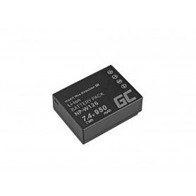 Baterija NP-W126 za Fujifilm FinePix HS30EXR, HS33EXR, HS50EXR, X-A1, X-A3, X-E1, X-E2, X-M1, X-T1, X-T2 7.4V 950mAh