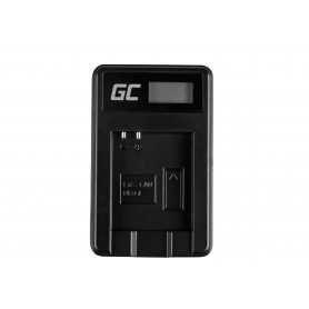 Baterija NB-6L/6LH in polnilnik CB-2LY za Canon PowerShot SX510 HS, SX520 HS, SX530 HS, SX600 HS 3.7V 1000mAh