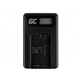 Baterija DMW-BMB9 in polnilnik DE-A83, DE-A84 za Panasonic DMC-FZ70, DMC-FZ60, DMC-FZ100 7.4V 750mAh