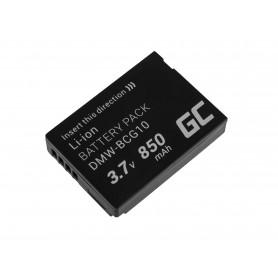 Baterija za kamero za Panasonic Lumix DMC-TZ10 DMC-TZ20 DMC-TZ30 DMC-ZS5 DMC-ZS10 DMC-ZX1 DMC-ZX3 3.7V 850mAh