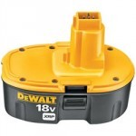 Baterija za Black & Decker, Dewalt 18V Ni-Mh 3.0Ah