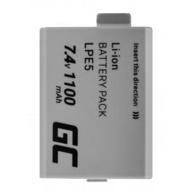 Baterija LP-E5 in polnilec LC-E5 ® za Canon EOS 450D 500D 1000D Kiss Rebel