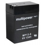 Multipower MP13-6  6V / 13Ah