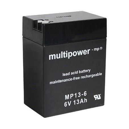 Multipower MP13-6  6V / 13Ah