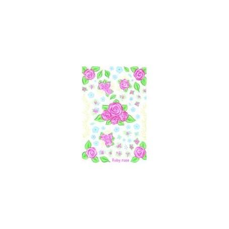 Stenska nalepka drobni cvetovi