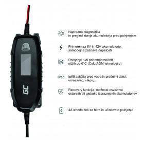 6V / 12V (4A) polnilnik svinčenih akumulatorjev