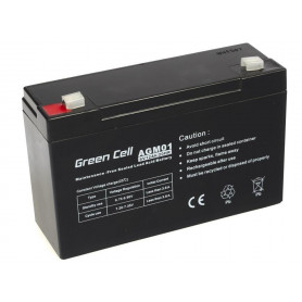 AGM akumulator 6V 12Ah