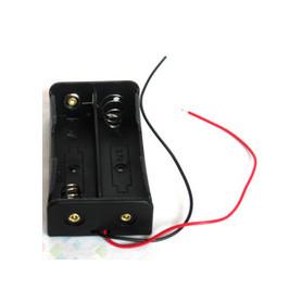 Nosilec za 2 x 18650 baterijske celice 2S1P