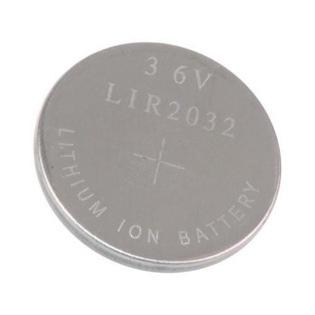 LIR 2032 3,6V Li-Ion polnilna baterija