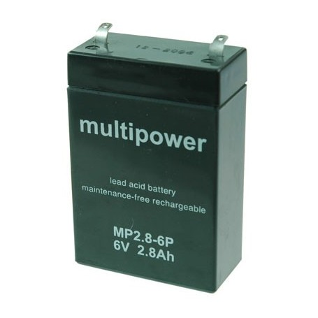 Multipower MP2,8-6P Pb 6V / 2,8Ah