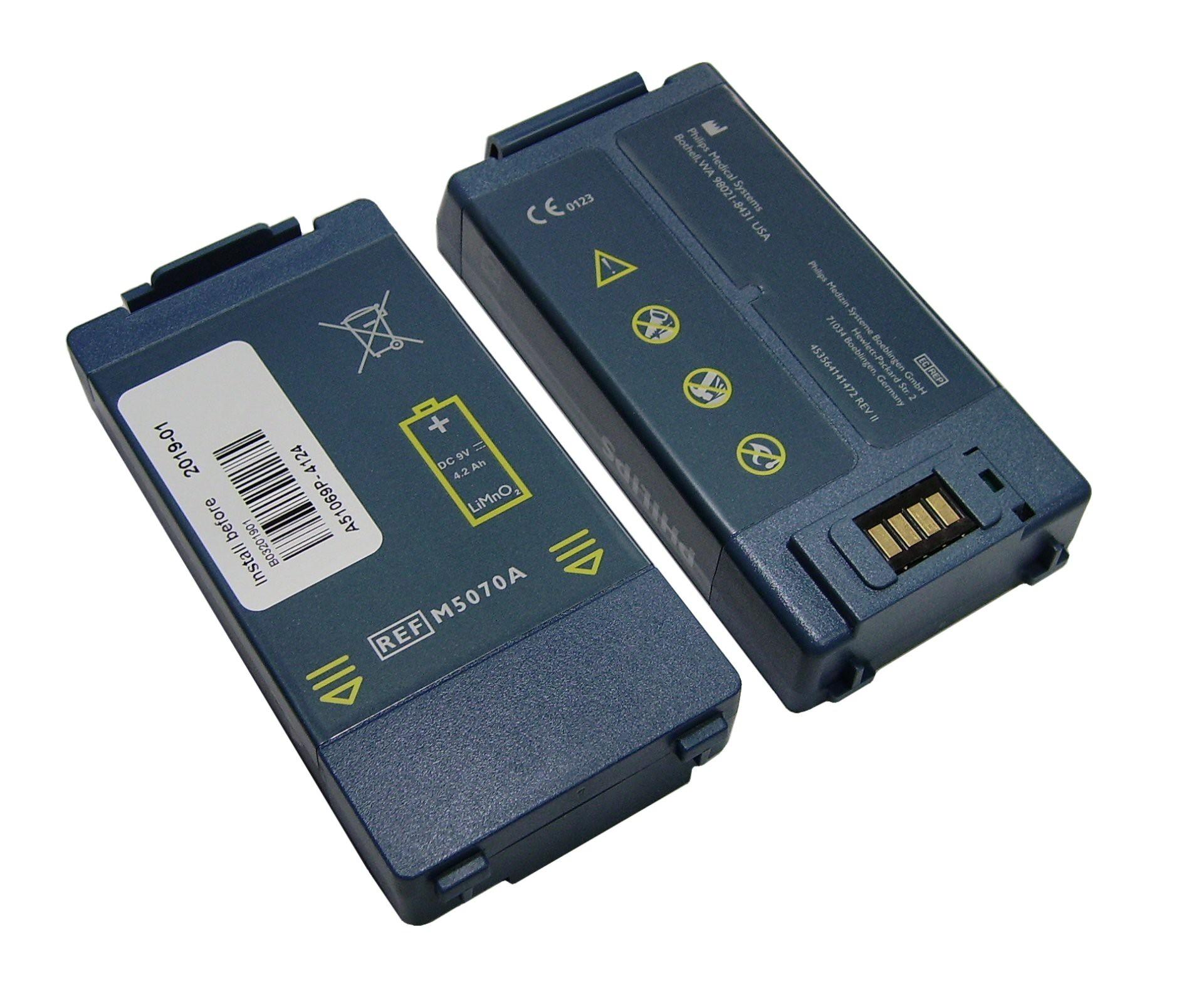 Baterija M5070A za defibrilator Philips Heartstart HS1/FRX - Ebatt