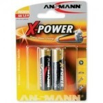BAT ANS ALKALNA X-POWER LR06 (2 V BLISTRU)