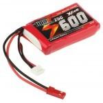 XCell LiPo Cracker 7,4V / 600mAh 2S1P, 25C EHR/BEC konektor
