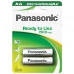 Panasonic Ready to Use AA Mignon Ni-MH 1,2V / 1900mAh (2 blister)