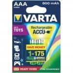Varta Ready2Use AAA Micro Ni-MH 1,2V / 800mAh (2 blister)