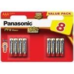 Panasonic Lr03 AAA 4+4 GRATIS!