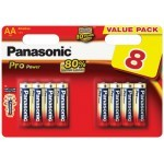 Panasonic Lr06 AA 4+4 GRATIS!