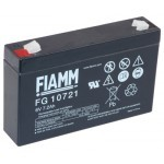 Fiamm  FG10721 6V / 7,2Ah Faston 4,8mm
