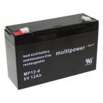 Multipower MP12-6 6V / 12Ah