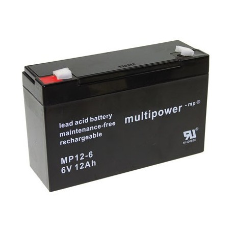Multipower MP12-6 6V / 12Ah