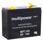 Multipower MP7-6S 6V / 7Ah