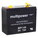 Multipower MP7-6S 6V / 7Ah