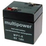 Multipower  MP1-6 6V / 1Ah