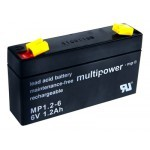 Multipower MP1,2-6 6V / 1,2Ah
