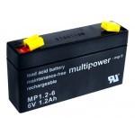 Multipower MP1,2-6 6V / 1,2Ah