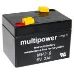 Multipower MP2-6 6V / 2Ah