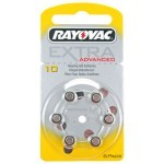 Rayovac 10AE baterije za slušni aparat Ultra Zinc Air Extra