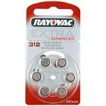 Rayovac 312AE baterije za slušni aparat Ultra Zinc Air Extra