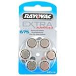 Rayovac 675AE baterije za slušni aparat Ultra Zinc Air Extra