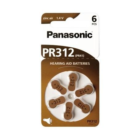 Panasonic 312 1.4V baterije za slušni aparat